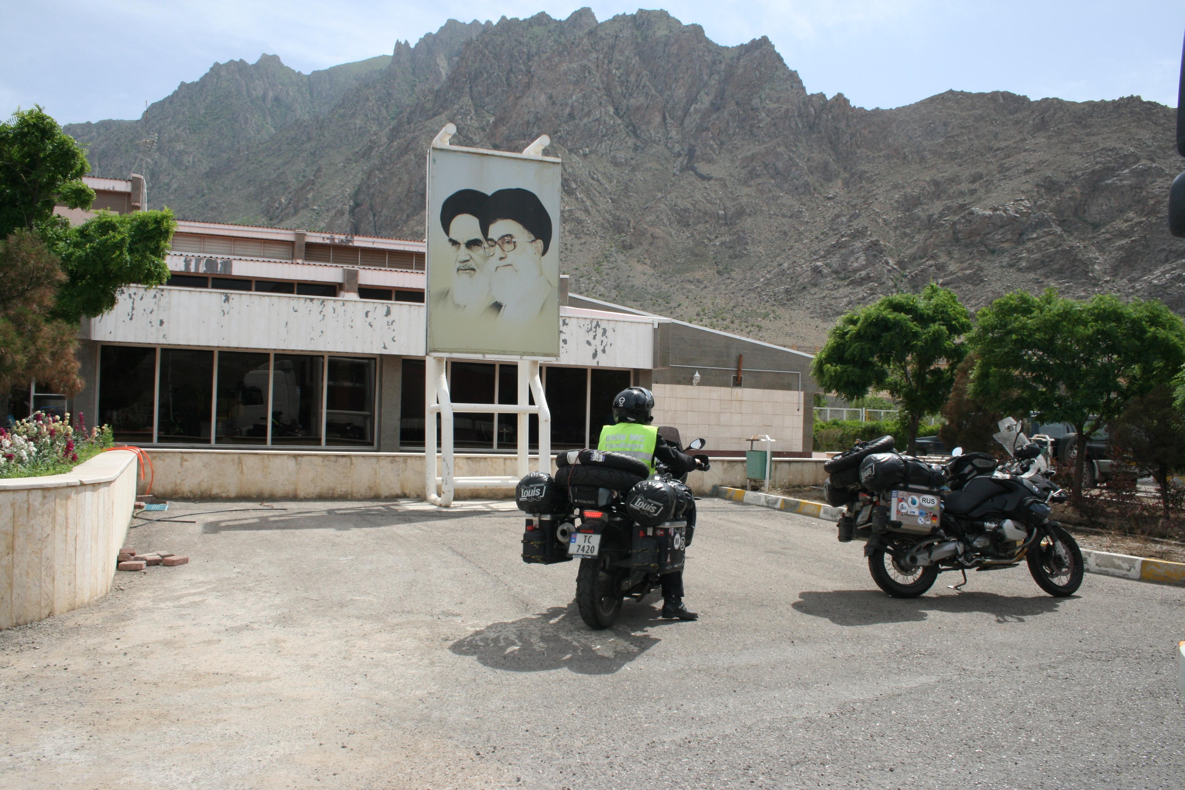 GRENSEPASSERING TIL IRAN