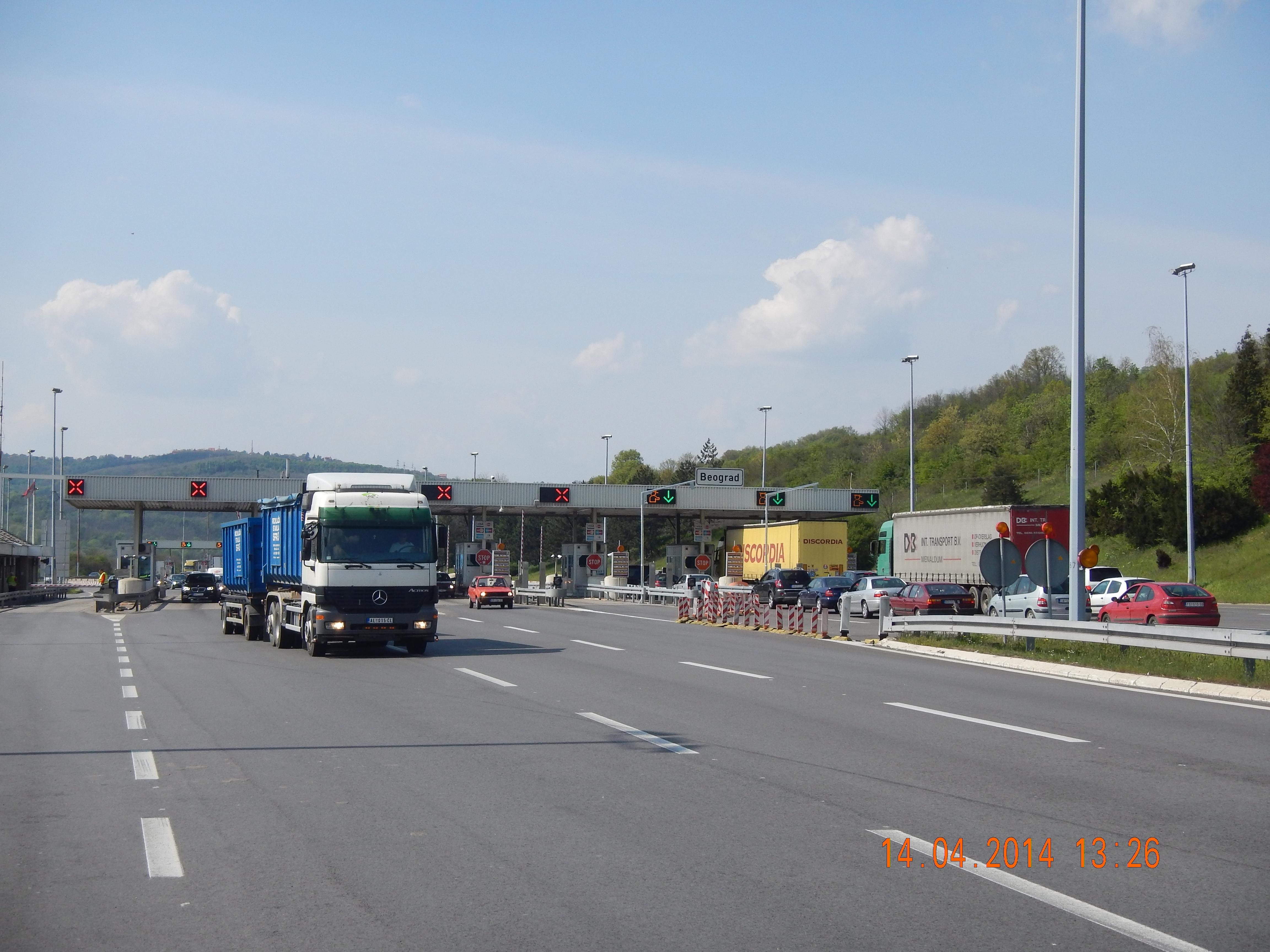 BOMPENGER I SERBIA