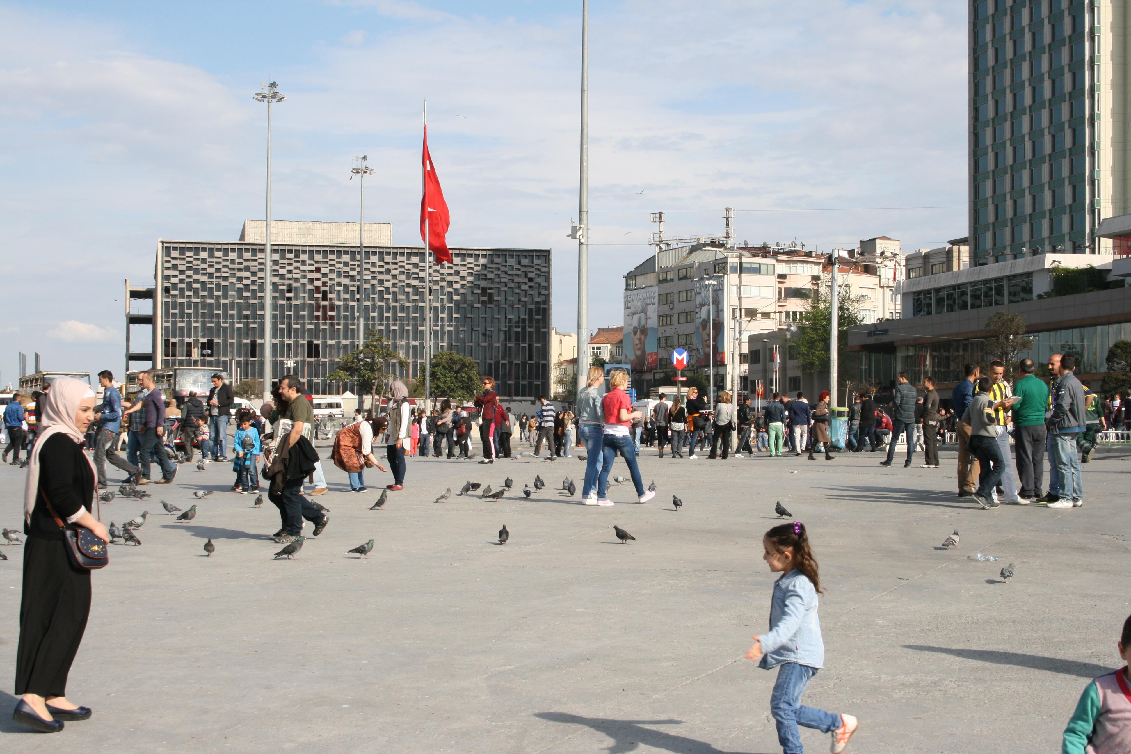 TAKSIM PLASSEN I ISTANBUL