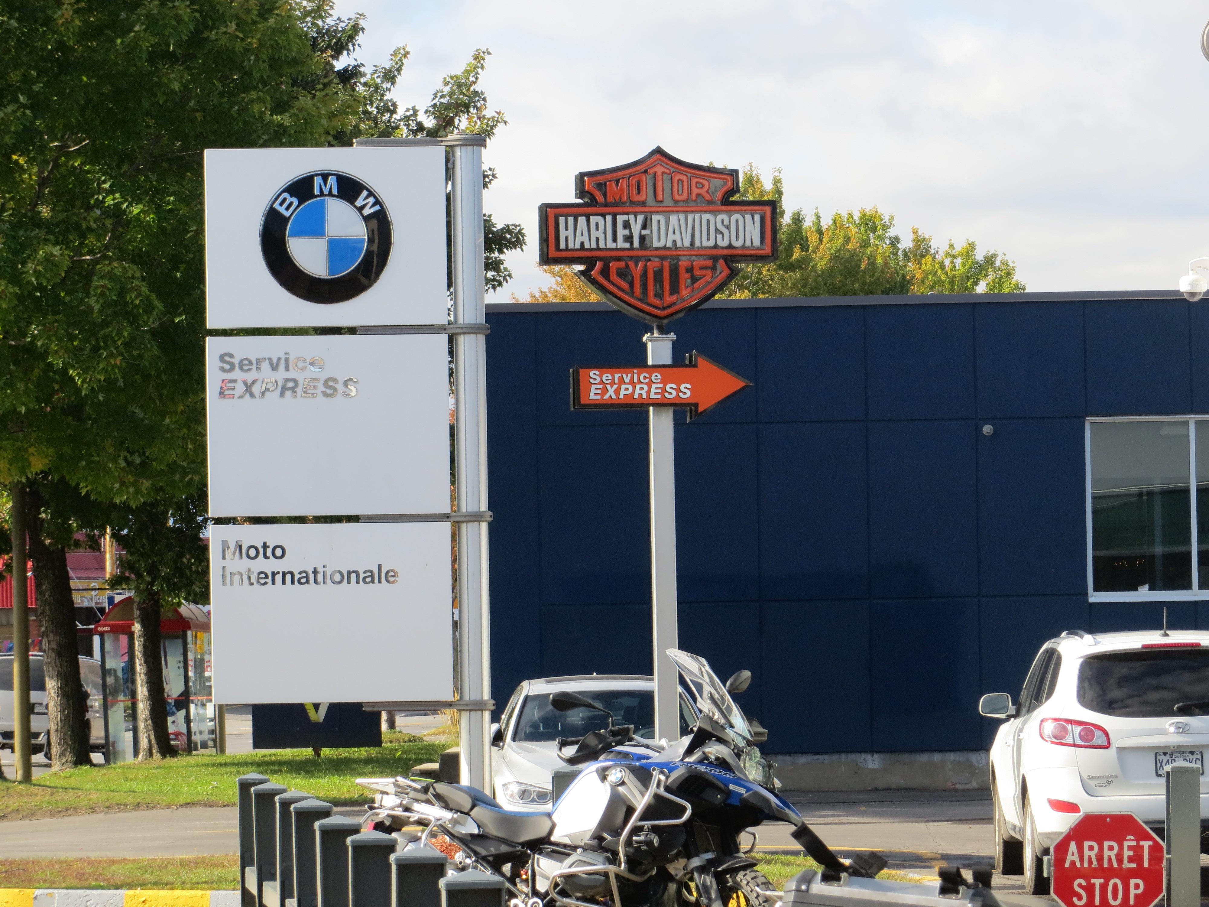 BMW OG HARLEY DAVIDSON UNDER SAMME TAK