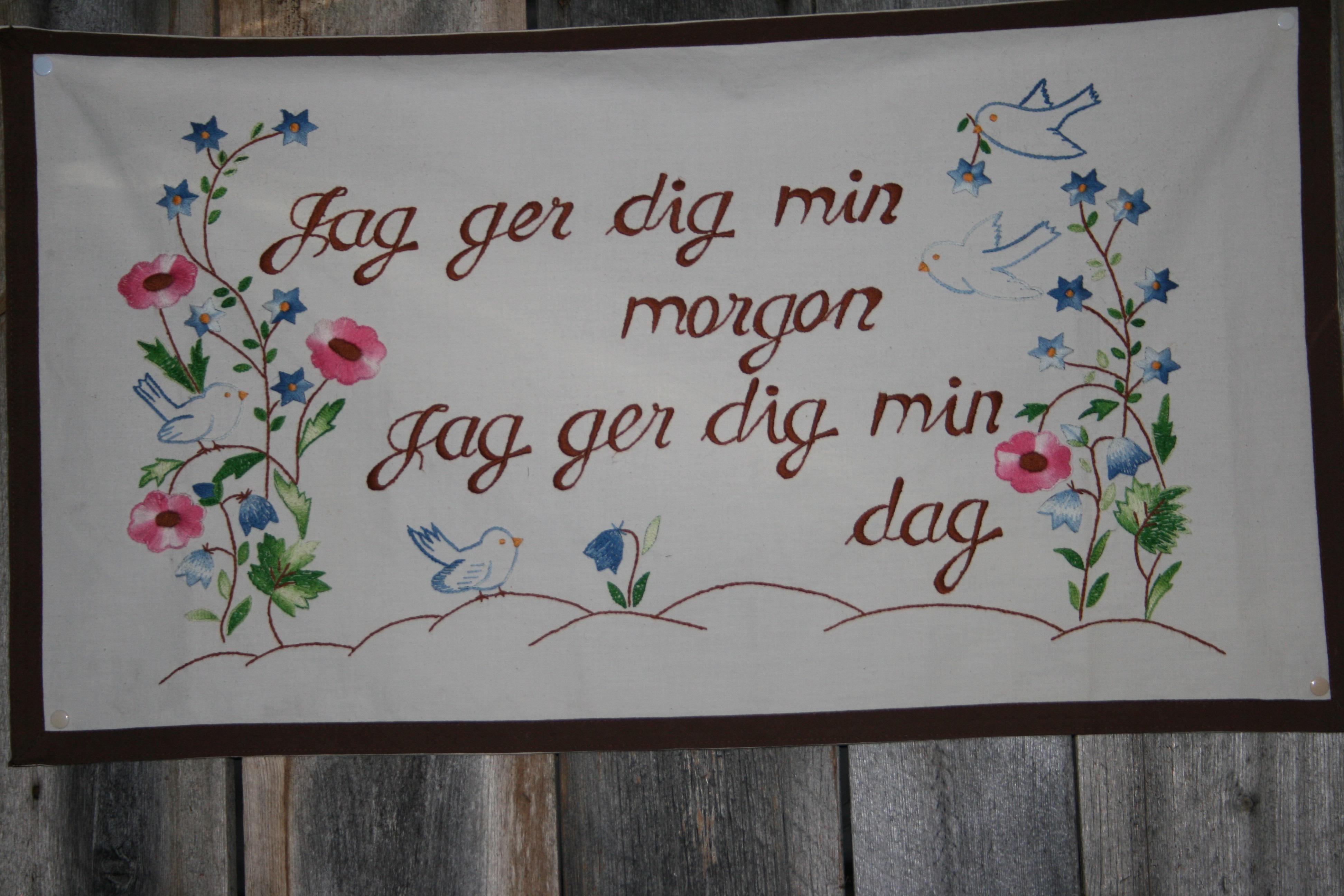 KLOKE ORD Å TA MED SEG PÅ VEIEN