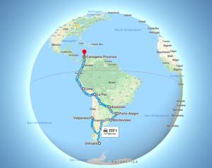 Hvor er vi ? Live GPS-tracking